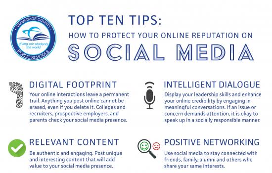 Top Ten Tips on Social Media