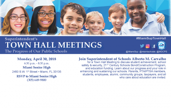 Superintendent's TOWN HALL MEETING: The Progress of Our Public Schools